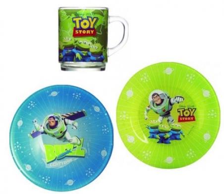 Набір дитячого посуду Luminarc Disney Toy Story G5852