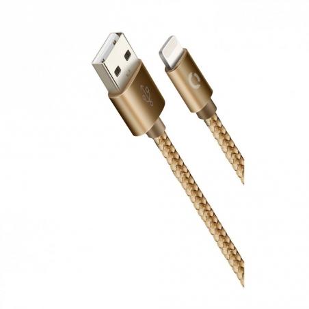 USB кабель Lightning Cord Ace 1м 2A Rose Gold (CDA-L1-2RG)