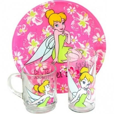 Набір дитячого посуду Luminarc Disney Tinker Bell H5305