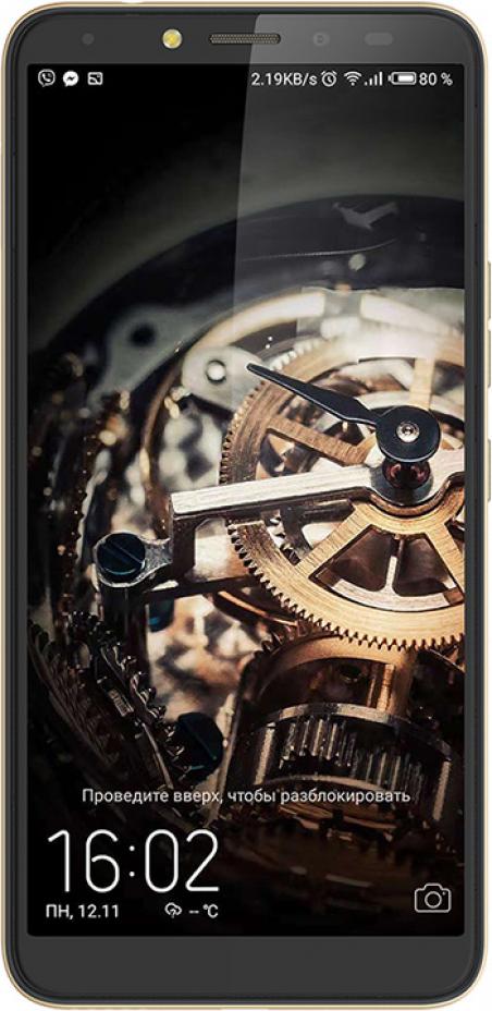 Смартфон Tecno Pouvoir 2 Pro 3/32GB (LA7 pro) DualSim Champagne Gold