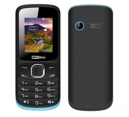 Мобільний телефон Maxcom MM-128 Black-Blue