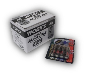 Батарейки Work's Alkaline LR6W-4B AA 4шт