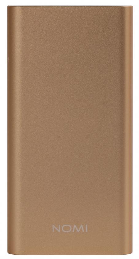 Зовнішній акумулятор Nomi E050 5000 mAh Gold