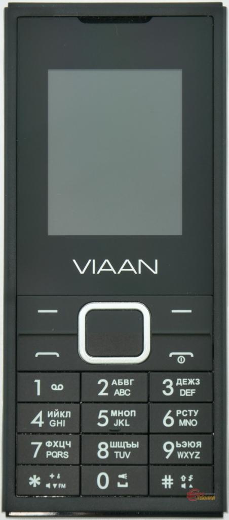 Мобільний телефон Viaan V181 Dual Sim Black