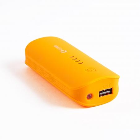 Зовнішній акумулятор Cord D-003 5200 mAh Orange