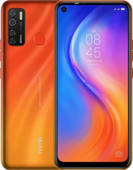 Смартфон Tecno Spark 5 Pro KD7 4/64GB DS Spark Orange