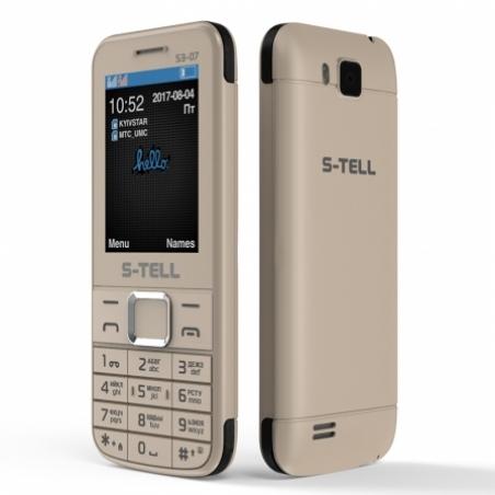 ecb51492e89ca Мобильный телефон S-Tell S3-07 Gold купить в интернет-магазине Euro ...