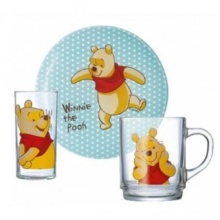 Набор детской посуды Luminarc Disney Winnie Colors H5307