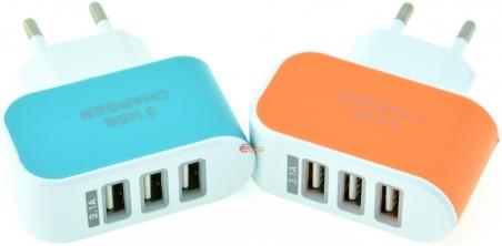 Зарядное устройство Charger 3XUSB