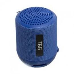 Портативная колонка Bluetooth T&G TG-129 blue