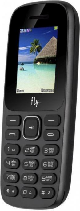 Мобільний телефон Fly FF183 Black