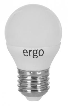 Світлодіодна лампа Ergo Standard G45 E27 6W 220V 3000K Теплий Білий