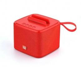 Портативная колонка Bluetooth T&G TG-801 red