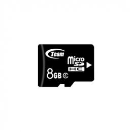 Карта пам'яті Team MicroSDHC 8GB Class 4 (TUSDH8GCL402)