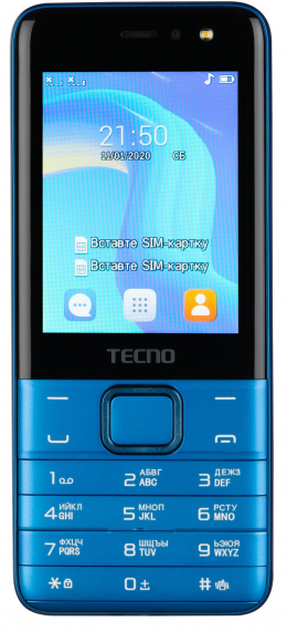 Мобільний телефон Tecno T474 Dual SIM Blue