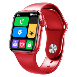 Смарт-часы Apl Watch Series 6 M26 PLUS 44mm Aluminium Red