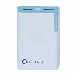 Зовнішній акумулятор Cord Y8400 White/Blue