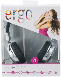 Навушники Ergo VD-350 Black