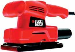 Віброшліфмашина Black&Decker KA300-XK