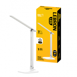 Лампа Lebron L-TL-L-10S-Wh 10W 4100K 650Lm