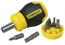 Отвертка Stanley Multibit Stubby 0-66-357