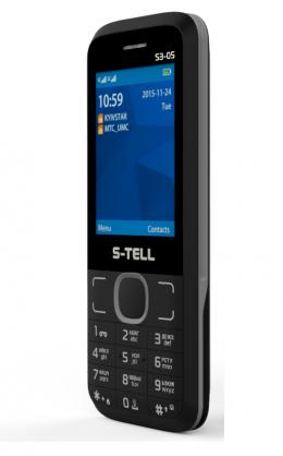Мобільний телефон S-Tell S3-05 Black-gray