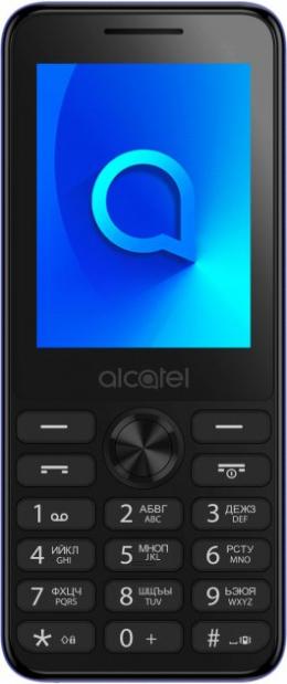 Мобильный телефон Alcatel 2003 Dual SIM Metallic Blue (2003D-2BALUA1)