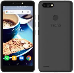 Смартфон Tecno POP 2F (B1G) 1/16GB Dual Sim Midnight Black