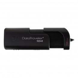 USB-флеш-накопичувач Kingston DataTraveler 104 USB 2.0 Black (DT104/16GB)