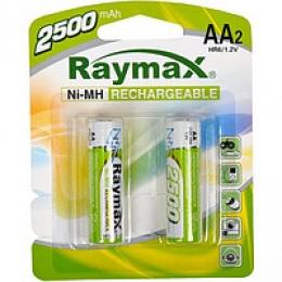 Акумулятори Raymax HR6 AA 2500 mAh 1,2 V Ni-MH