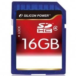 Silicon Power SDHC 16 GB Class 4