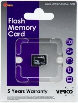 Карта пам'яті Verico microSDHC 8 Gb Class 4