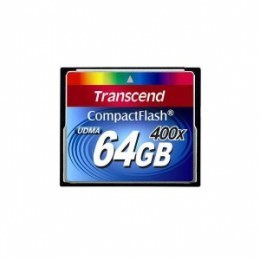 Карта пам'яті Transcend Compact Flash 64 GB (400X)