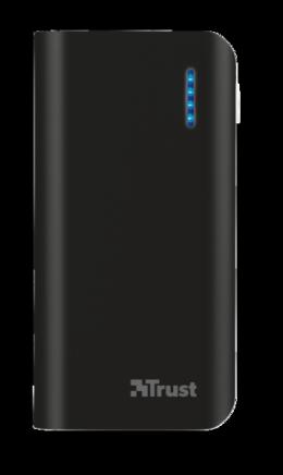 Зовнішній акумулятор Trust Primo 4400 Black