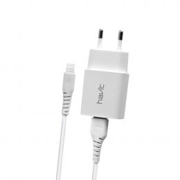 Зарядний пристрій Havit HV-ST901 з Lightning кабелем