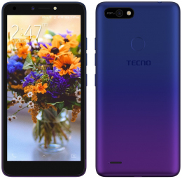 Смартфон Tecno POP 2F (B1G) 1/16GB Dual Sim Dawn Blue