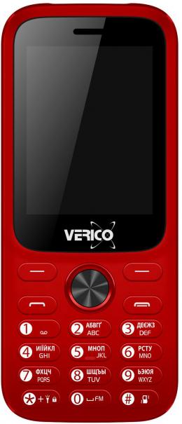 Мобільний телефон Verico Carbon M242 Red