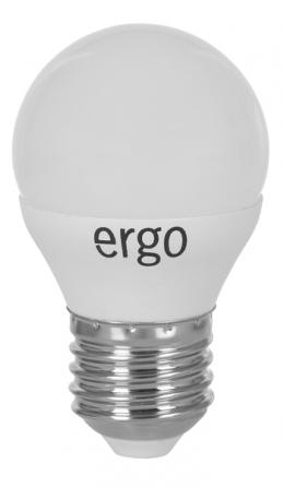 Світлодіодна лампа Ergo Standard G45 E27 4W 220V 3000K Теплий Білий