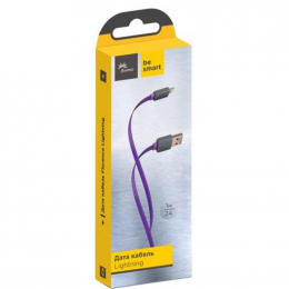 USB кабель Florence Color USB-Lightning 1m Purple (FDC-L1-2P)