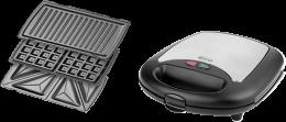 Бутербродниця ECG S 299 3в1 Black