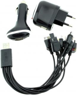 Універсальний зарядний пристрій EKA-14 in 1