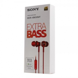 Гарнітура Sony MDR-XB650MT