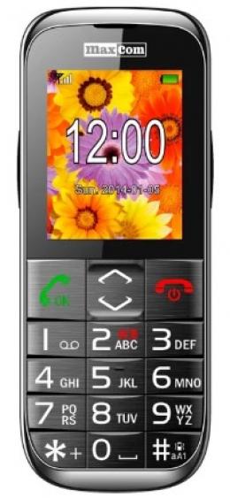 Мобильный телефон Maxcom MM720 Black