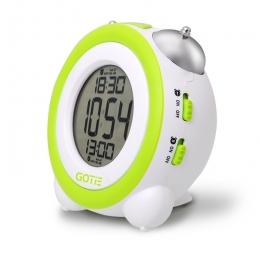 Електронний будильник GOTIE GBE-200Z зелений