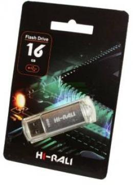 USB-флеш-накопитель Hi-Rali 16GB Rocket series Silver