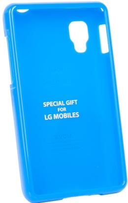 Чохол VOIA LG Optimus L4II Single Jelly Blue