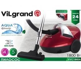 Пылесос Vilgrand VVC1845A Red