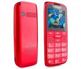 Мобільний телефон Sigma mobile Comfort 50 Slim 2 Red