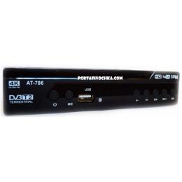 Приймач Т2 AT-786 YouTube WiFi 4k(1080) Full HD