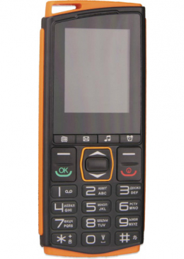 Мобільний телефон Sigma mobile Comfort 50 Mini 4 Black/Orange